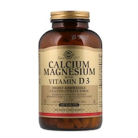 Кальций и магний с витамином D3, 300таблеток - фото