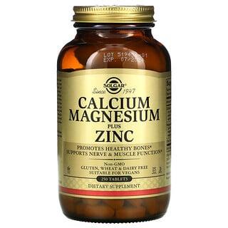 Solgar, Calcium Magnesium Plus Zinc, 250 Tablets