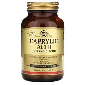 Солгар, Caprylic Acid, 100 Vegetable Capsules отзывы покупателей