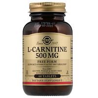 L-карнитин, 500 мг, 60 таблеток - фото