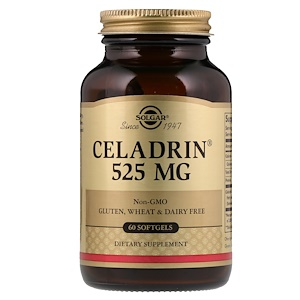 Солгар, Celadrin, 525 mg, 60 Softgels отзывы