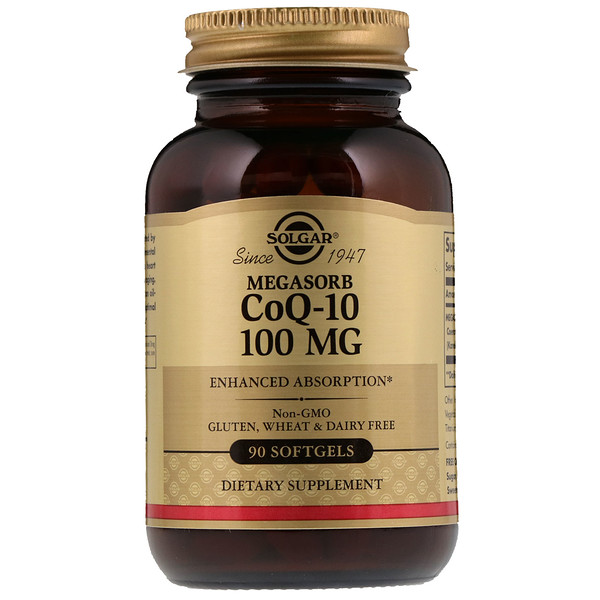 Megasorb CoQ-10, 100 mg, 90 Softgels