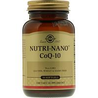 Nutri-Nano CoQ-10, 50 мягких таблеток - фото