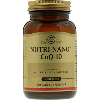 Solgar, Nutri-Nano CoQ-10, 50 Softgels