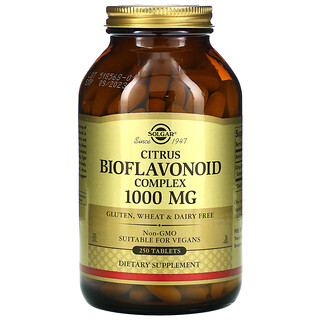 Solgar, Composé Flavonoïde aux Agrumes, 1000 mg, 250 comprimés