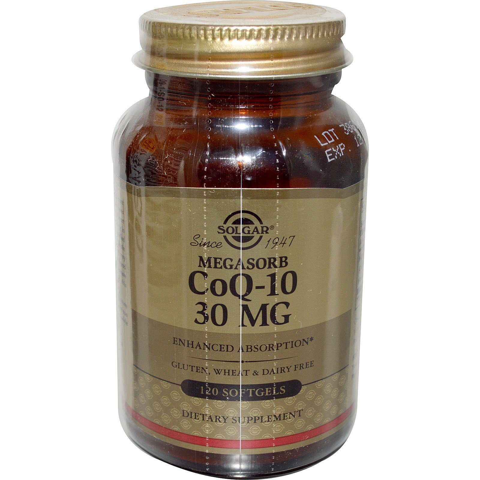 Solgar, Megasorb CoQ-10, 30mg, 120 Softgels
