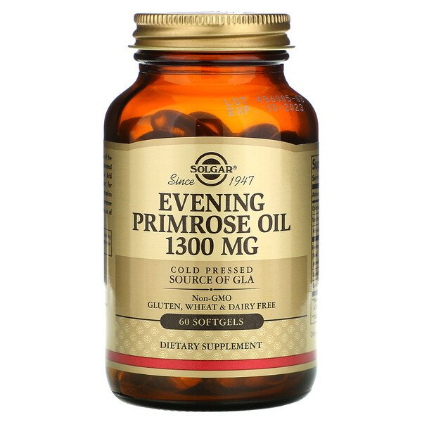 Evening Primrose Oil, 1,300 mg,  60 Softgels