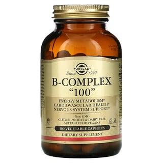 """Solgar, B-Complex """"100"""", 100 Vegetable Capsules"""