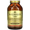"""Solgar, B-Complex """"100"""", 250 Vegetable Capsules"""