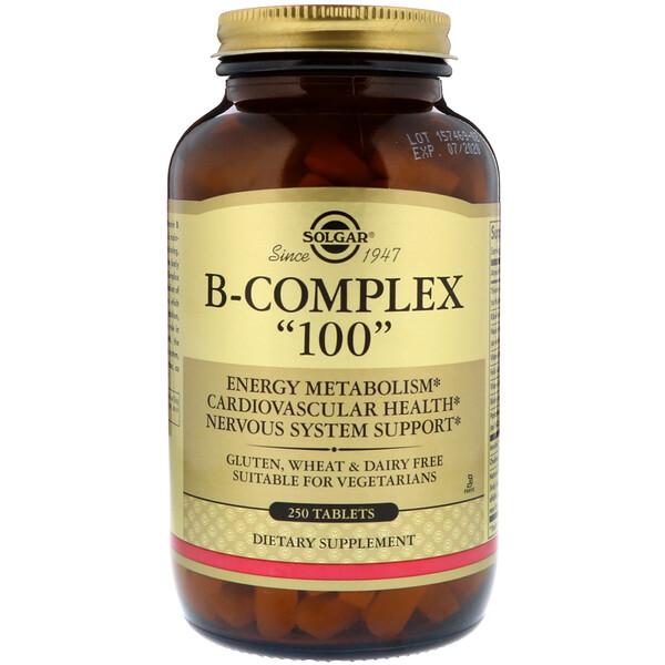 "Solgar, B-Komplex ""100"", 250 Tabletten"