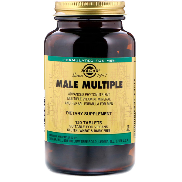 Male Multiple, 120 Tablets