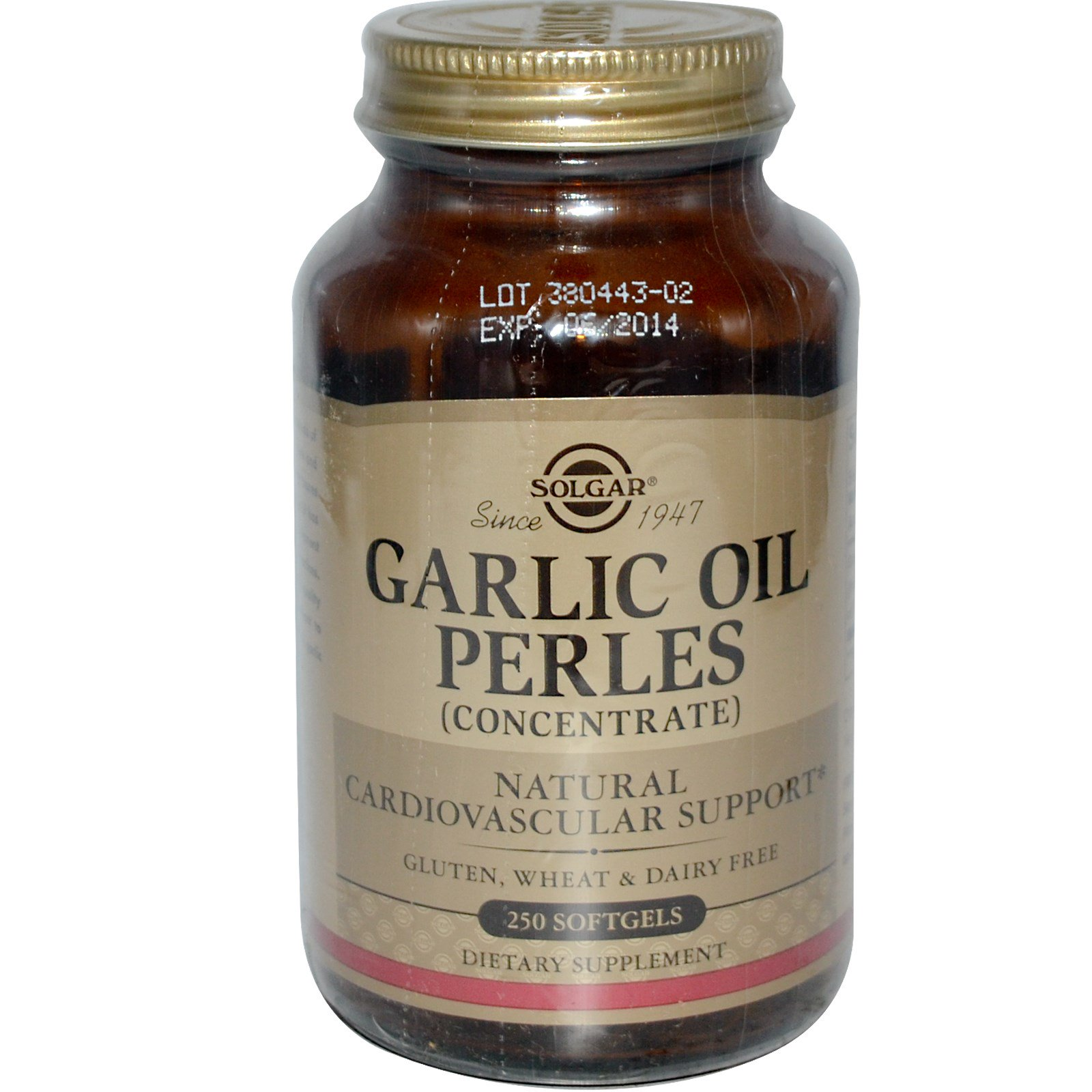Garlic oil concentrate
