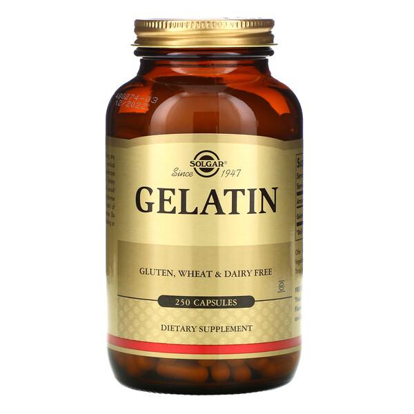 Gelatin, 250 Capsules