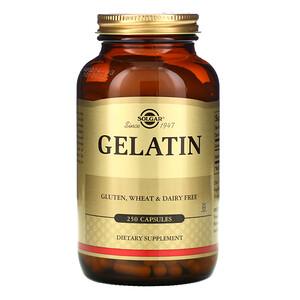 Солгар, Gelatin, 250 Capsules отзывы покупателей