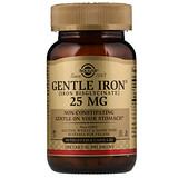 Отзывы о Solgar, Мягкое железо, 25 мг , 90 вегетарианских капсул