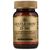 Мягкое железо, 25 мг , 90 вегетарианских капсул - фото