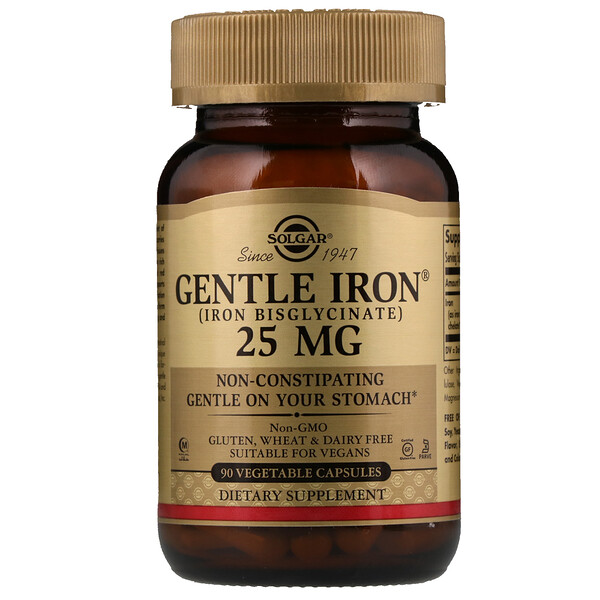 Gentle Iron, 25 mg, 90 Veggie Caps
