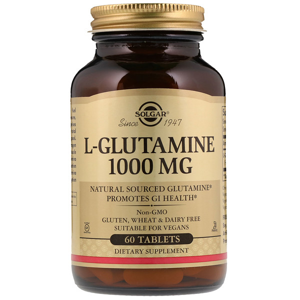 L-Glutamine, 1000 mg, 60 Tablets