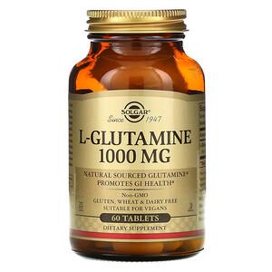 Солгар, L-Glutamine, 1000 mg, 60 Tablets отзывы покупателей