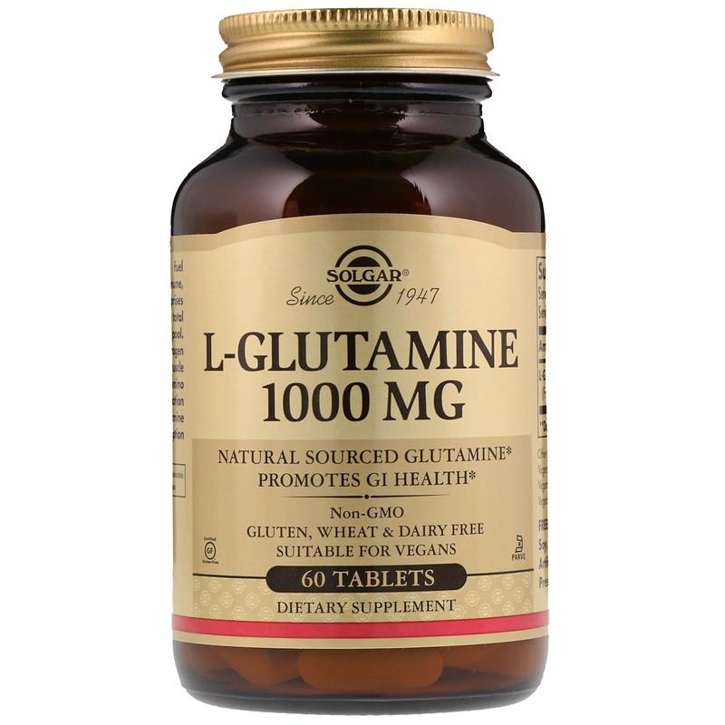 L-Glutamine, 1000 mg, 60 Tablets