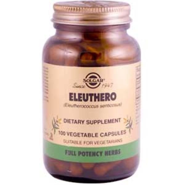 Solgar, Eleuthero, 100 Veggie Caps (Discontinued Item)