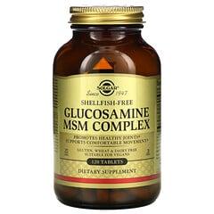 Solgar, 葡萄糖胺 MSM 複合物,120 片