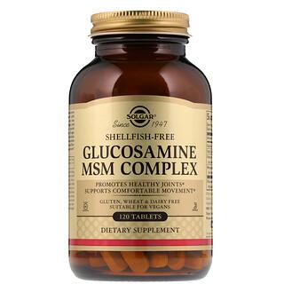 Solgar, Complejo de Glucosamina & Condroitina, Extra Fuerza, 300 comprimidos