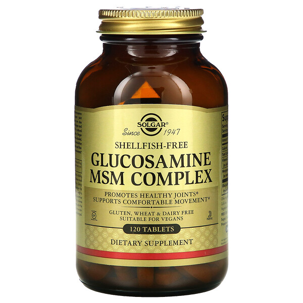 Glucosamine MSM Complex, 120 Tablets