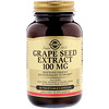 Solgar, Grape Seed Extract, 100 mg, 60 Vegetable Capsules