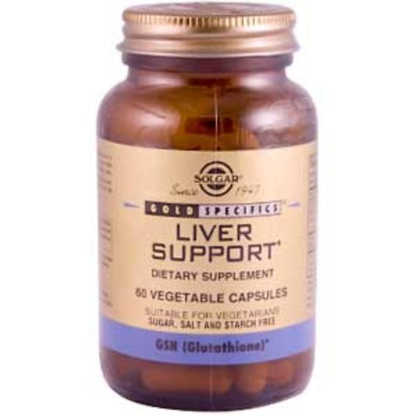 Solgar, Gold Specifics, Liver Support, 60 Veggie Caps (Discontinued Item)