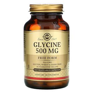 Солгар, Glycine, 500 mg, 100 Vegetable Capsules отзывы