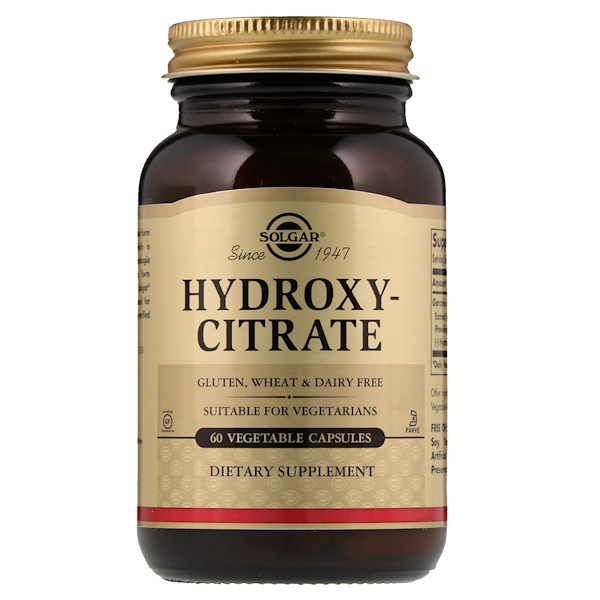 Hydroxy-Citrate, 60 Vegetable Capsule