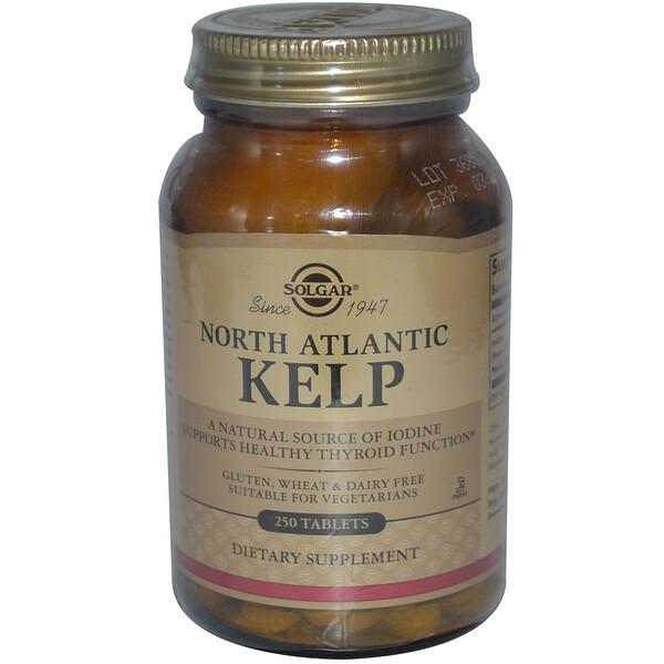 Solgar, North Atlantic Kelp, 250 Tablets (Discontinued Item)