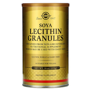 Solgar, Soya Lecithin Granules, 16 oz (454 g)