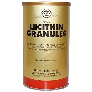 Solgar, レシチン細粒、 16オンス (454 g)