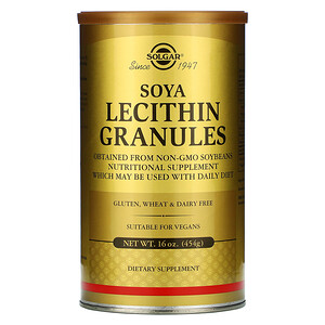 Солгар, Soya Lecithin Granules, 16 oz (454 g) отзывы покупателей