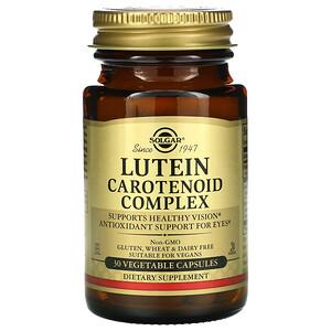Солгар, Lutein Carotenoid Complex, 30 Vegetable Capsules отзывы покупателей