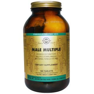 Solgar, Male Multiple、Advanced Phytonutrient、180錠