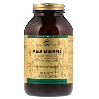 Solgar, Male Multiple, 180 таблеток