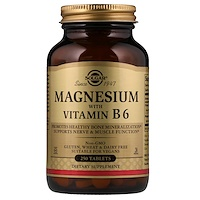 Магний, с витамином В6, 250 таблеток - фото