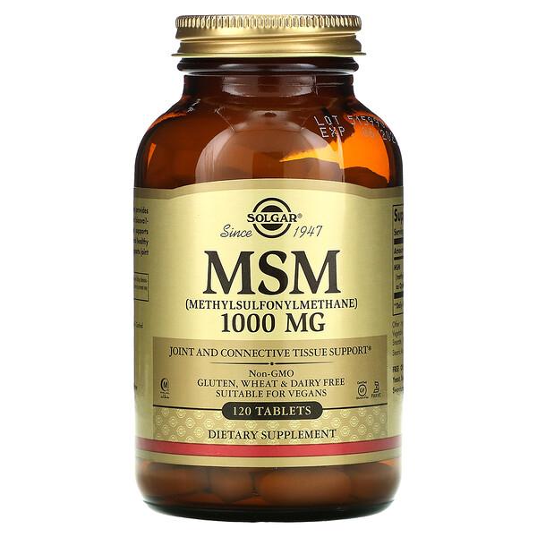 МСМ (Метилсульфонилметан) 120 таблеток