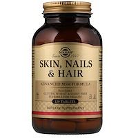 Кожа, ногти и волосы, улучшенная МСМ формула, 120 таблеток - фото