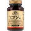 Solgar, Sublingual Vitamin B12, 5,000 mcg, 60 Nuggets