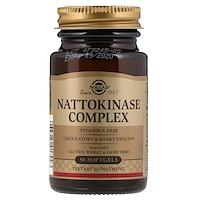 Наттокиназа комплекс 30 гелевых капсул - фото