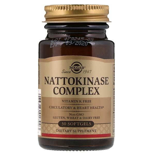 Nattokinase   ٣٠ كبسوله جيلاتينيه من مركب