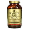 Solgar, No-Flush Niacin, 500 mg, 250 Vegetable Capsules