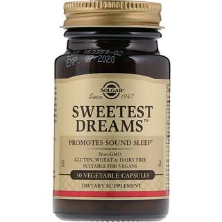 Solgar, Sweetest Dreams, 30 Vegetable Capsules