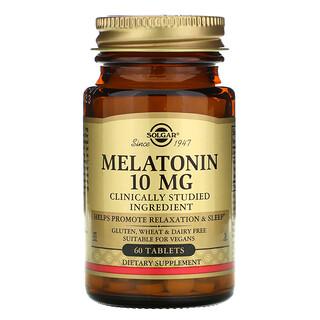 Solgar, Melatonin, 10 mg, 60 Tablets