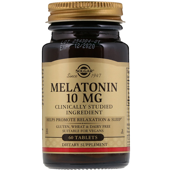 Melatonin, 10 mg, 60 Tablets