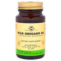 Solgar, Wild Oregano Oil, 60 Softgels